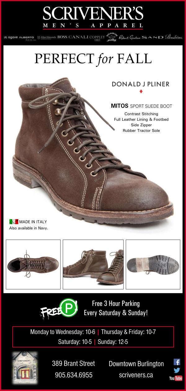 Donald J Pliner Mitos Boot at Scrivener's