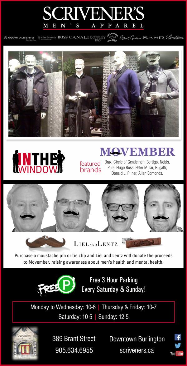 Scrivener's Movember Window