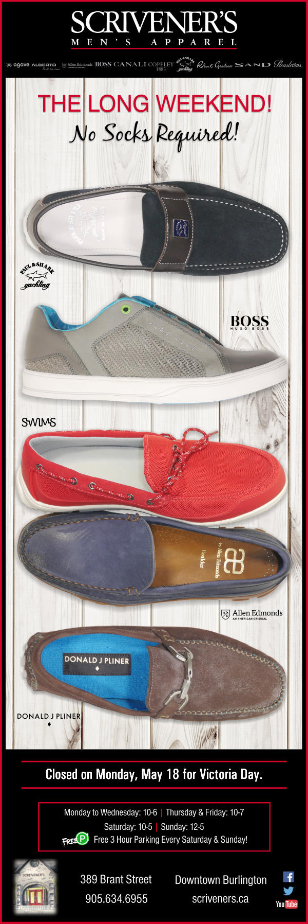 Long Weekend Shoes - No Socks Required